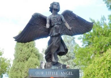 Our Little Angle Statue